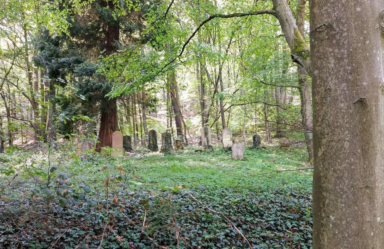 Denkmalgeschützter Jüdischer Friedhof Waldbreitbach.