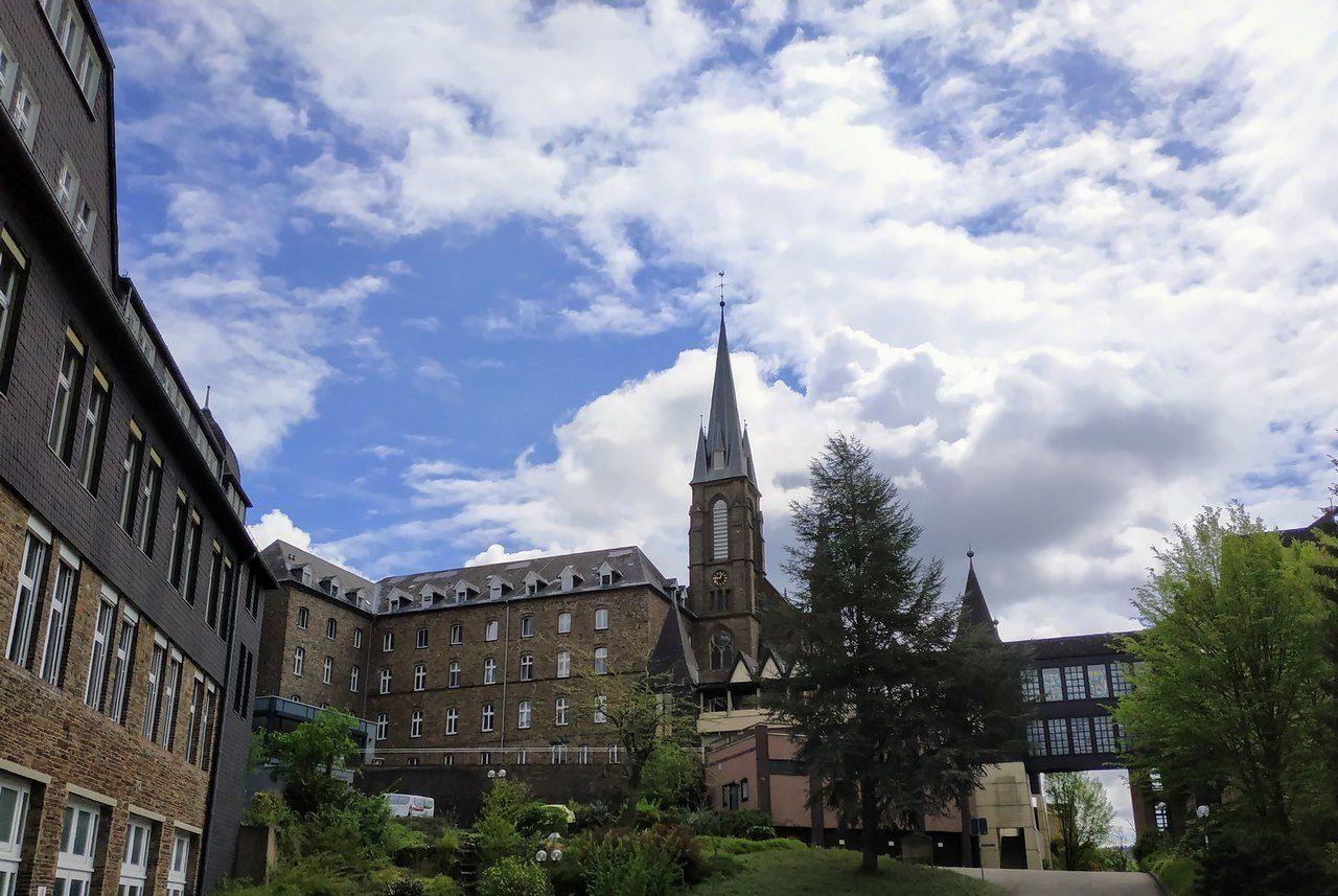 Die Mutterhauskirche der Waldbreitbacher Franziskanerinnen.